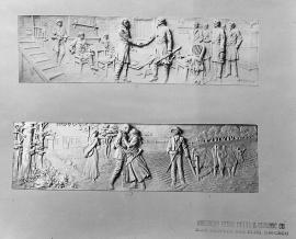 Lincoln Bas Reliefs 9-10