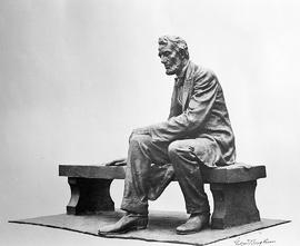 Gutzon Borglum's Lincoln = Seated Lincoln