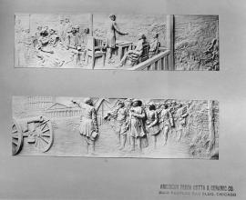 Lincoln Bas Reliefs 5-6