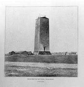 Washington Monument, 1859-1876
