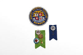 Highland Park Hospital Auxiliary Pins and Patch