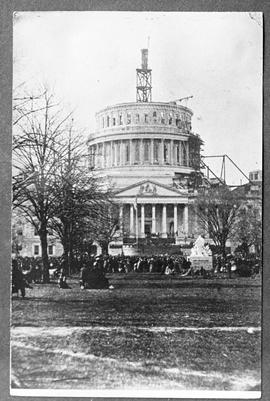 Capitol at W. on Mar. 4, 1861